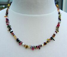 Natürliche Echte Edelstein-Halsketten & -Anhänger mit Turmalin für Damen