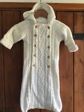 Baby GAP Knitted Snow Suit/ Growbag / Pram Suit - Age 6-12 Months