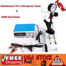 Common Rail CRDI Injector Tester For BOSCH DENSO DELPHI +S60H Nozzle Validator