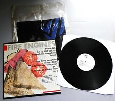 Fire Engines - Lubricate Your Living Room UK 1980 Pop Aural LP + Pop Aural Bag