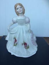 Rare APRIL lady figure Royal Doulton HN3333 Royal Albert Flower of the month