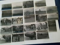 WWII Fiji Islands Tribe+Military Men,Fiji Stop,WITH GO GETTIN' GAL Bomber Photos