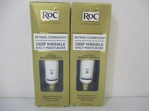 2 Roc Retinol Correxion Deep Wrinkle Daily Moisturizer 1oz Ea Exp 5/22 Jl 12842
