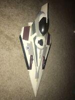Star Wars Clone Wars Mace Windu's Jedi Starfighter Hasbro 2008