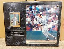 ALEX RODRIGUES PLAQUE WITH CARD