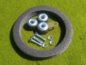 CHEVY II NOVA Windshield Wiper Motor Mounting Screw Rubber Grommet Seal KIT 7PCS