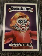 2016 GPK Garbage Pail Kids Disgrace to the White House #5 Chucklin' Clinton