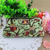 New Fashion Women Lovely Style Ladies Wallet Owl Purse Clutch Bags Handbag UK