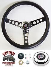 "1964-1966 Wildcat Skylark LeSabre Electra steering wheel 13 1/2"" CLASSIC CHROME"