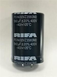 1x EVOX RIFA / KEMET 560uF 400V DC 35x50mm PEH430VZ3560M2 Electrolytic Capacitor