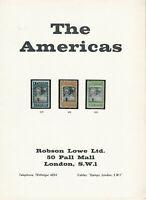 The Americas, Robson Lowe Ltd., #Sale 2350-2352, Dec. 10, 1963, Auction Catalog