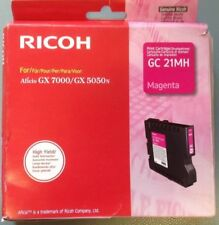 Ricoh GC21MH Aficio GX7000 GX5050 Magenta Toner Cartridge Genuine Original Ricoh