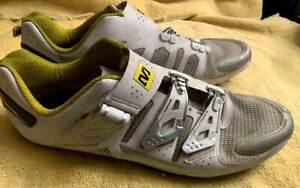 MAVIC ERGORIDE Cycling Shoes Carbon - White- Euro 46 / 11.5 US - 230 Grams