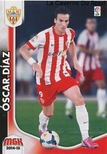 N°018 OSCAR DIAZ # ESPANA UD.ALMERIA CARD PANINI MEGACRACKS LIGA 2015