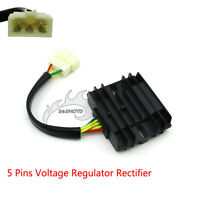 ATV Voltage Regulator Rectifier 5 Pins For LINHAI Touring Scooter 260 300 cc UTV