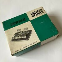 Universal Film Splicer Super 8 Regular 8 & 16mm Film Boxed