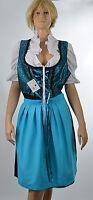 DIRNDL .COM Trachtenkleid Gr. XXXL 46, 3tlg. Bluse, Schürze  Damen Bekleidung *