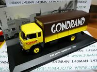 PIT6D 1/43 IXO Altaya Véhicules d'époque ITALIE FIAT 643N transport Gondrand