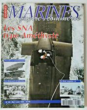 MAGAZINE MARINES 1996 N°43 SNA TYPE AMÉTHYSTE DINASSAUT EN INDOCHINE SOUS-MARIN