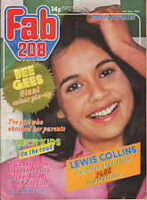 Fab 208 Magazine 27 May 1978     The Bee Gees & Andy Gibb     Lewis Collins