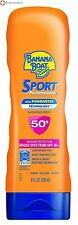 Banana Boat Sport Performance Broad Spectrum Sunscreen, SPF 50 Lotion - 8 fl oz