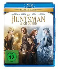 Blu-ray * THE HUNTSMAN & THE ICE QUEEN - EXTENDED EDITION # NEU OVP +