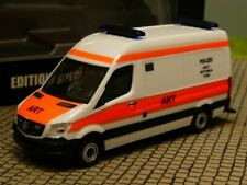 1/87 Herpa MB Sprinter ART POLIZEI SEK/GSG9 Akutrettungsteam RTW 939072