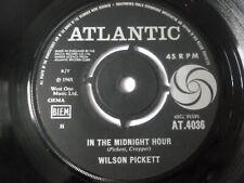 "WILSON PICKETT ~ IN THE MIDNIGHT HOUR ~ 1965 UK 1ST PRESS SOUL 7"" VINYL SINGLE"