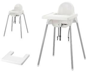 IKEA ANTILOP Kinderstuhl mit Tablett Hochstuhl Babystuhl Essstuhl Verstellbar