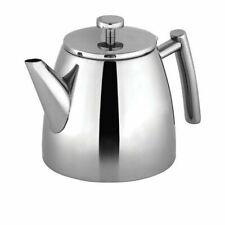 Avanti Modena 1.2L Double Wall Tea Pot - Silver