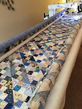 Long arm quilting service - King size bed quilt