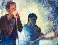 Unknown Unidentified Anonymous: Harmonica Player & Violinist/ Contemporary Music