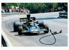 Spanish GP 1975 JACKY ICKX Lotus Ford  photo Hand Signed by JACKY ICKX