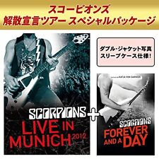 SCORPIONS-LIVE IN MUNICH 2012 + FOREVER AND A DAY-JAPAN 2 BLU-RAY Ltd/Ed W63