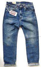 LVC Levis Vintage Clothing 1954 501z Big E Selvedge Jeans 34 × 34 Cone Denim