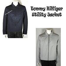 TOMMY HILFIGER NEW MENS FULL ZIP UTILITY JACKET WARM...