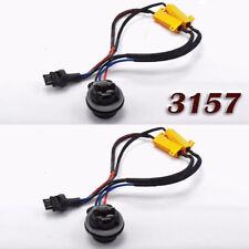 3157 4157 Load Resistor Hyper Flash Canceler LED Brake Light W1 For GM Ford A