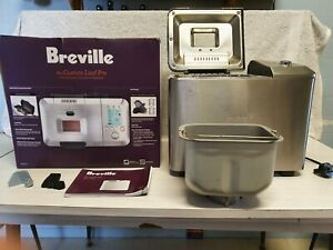 HARD TO GET BREVILLE BBM800BSS BREAD MAKER RETAILS FOR BETWEEN $400-$439