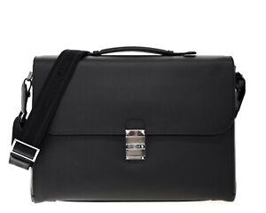 Montblanc Meisterstuck Briefcase Black Leather New