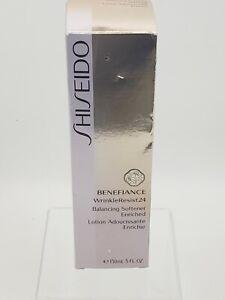 Shiseido Benefiance WrinkleResist24 Balancing Softener Enriched 150ml/5fl.oz New