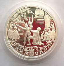 Russia 1999 Russian Ballet 25 Roubles 5oz Silver Coin,Proof