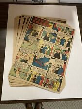 Dick Tracy Newspaper Comics 1941 Near Complete 51 Total Sundays Large Format
