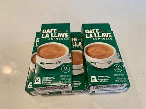 Cafe La Llave Nespresso Coffee Capsules, Intensity 11 (50 Caps) Ex 7/21