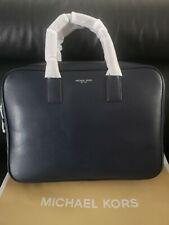 Men's Michael Kors LG Briefcase Saffiano Leather Brand New Colour Navy