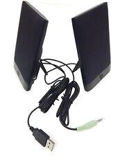 HP H-204B USB Powered Thin Flat Speakers New 636917-001 Model H-204B