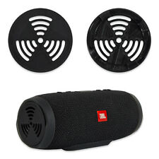 2 Pcs of Speaker Cover / Protector / Grill for JBL Charge 3, Black, Radioactive