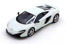 McLaren 650 S Coupe' White 2015 1:43 Model TRUE SCALE MINIATURES