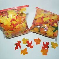2 Gallons Artificial Fall Silk Leaves Wedding Favor Autumn Maple Leaf Decor