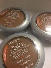 3 X L'oreal True Match Super-Blendable Powder CAPPUCCINO N-8 NEW TRUER COLOR
