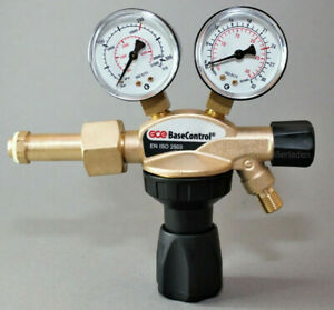 Druckminderer Argon CO2 200 bar Schutzgas Manometer MAG WIG +Tülle/Mutter Regler